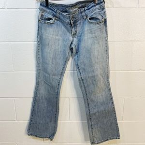American Eagle Artist Stretch Distress Jeans